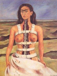 Фрида Кало, Сломанная колонна