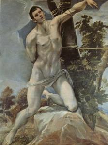 St. Sebastian. c. 1577-1578