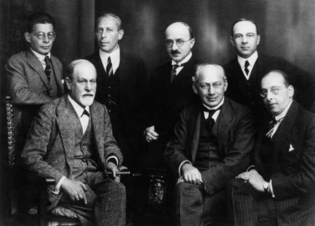 Secret-Committee-of-psychoanalysis.-O.-Rank-K.-Abraham-M.-Eitingon-E.-Jones-Sigmund-Freud-S.-Ferenczi-G.-Sachs.-Berlin-1922